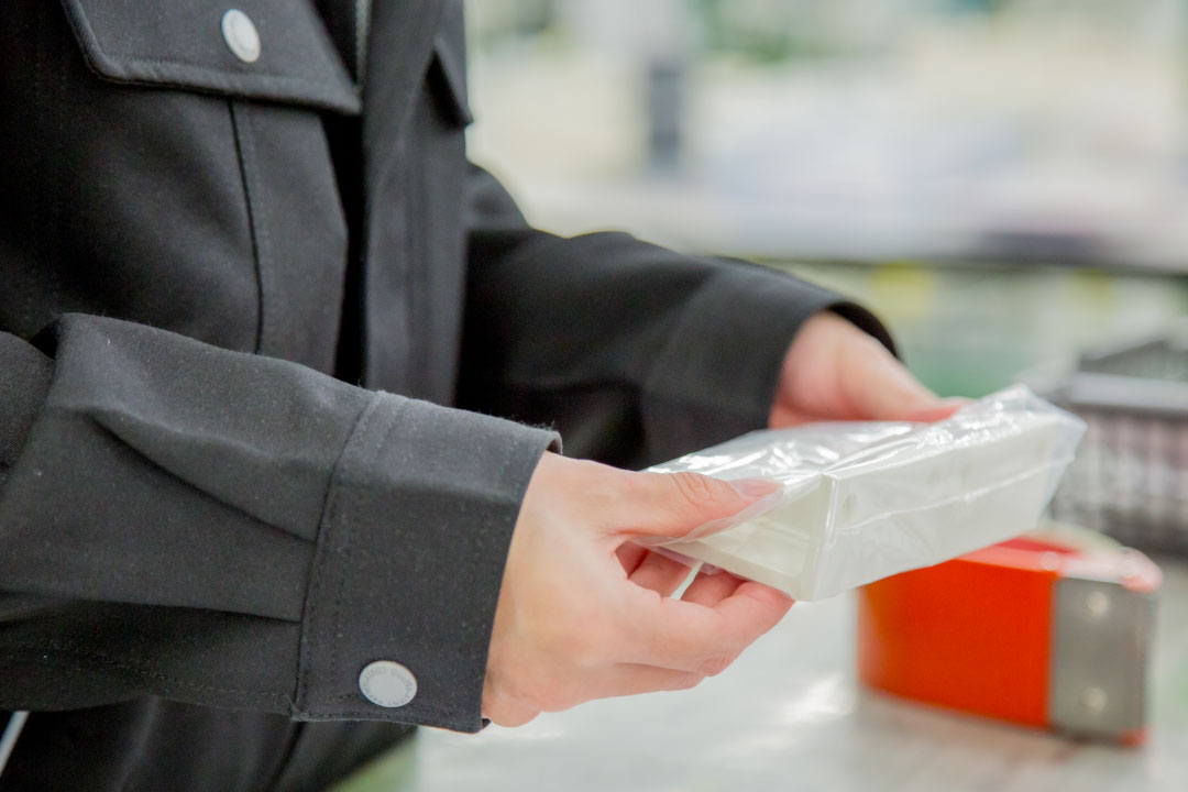 洗浄・梱包 検査課